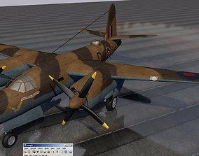 3D model Martin Marauder Mk-1A - RAF