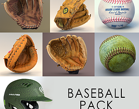3D model Baseball Scan Collection