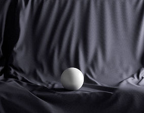 3D Presentation Cloth Commode var2