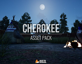 3D model Cherokee - Asset Pack - Unity HDRP