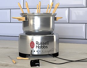 3D model electric fondue maker