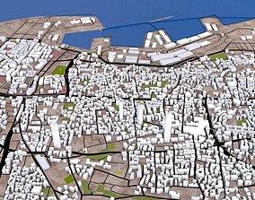 3D asset Beirut City Lebonan