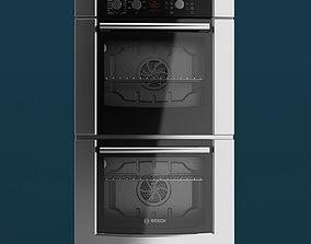 Bosch 300 Series Double Oven 3D model