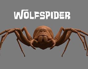 3D model realtime Spider