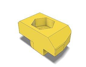 T-Nut Slot 10 Adapter to Hexagon Nut M4 3D print model