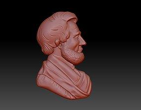 3D print model Abraham Lincoln president