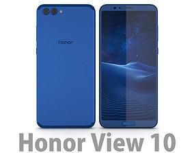 3D model Huawei Honor View 10 Aurora Blue