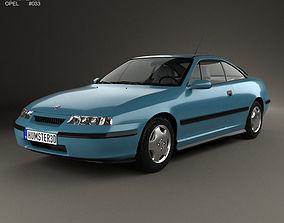 3D model Opel Calibra 1990