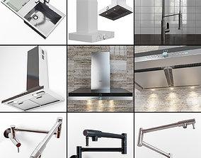 interior Kitchen set 1 3D