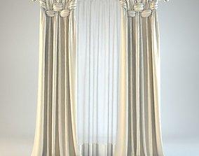 Curtain 8 3D model