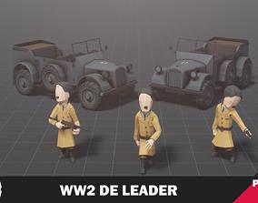 WW2 DE Leader 3D asset