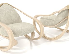 3D model Rocking armchair Move-Lw-LBv