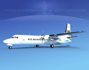 3D Fokker F-60 UN