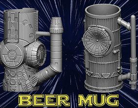 3D print model Beer mug can