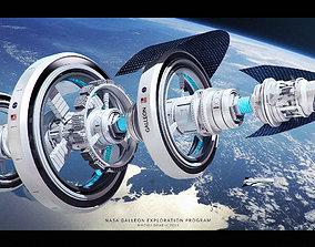 3D Nasa Concept Ship