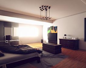 3D model Modern Archviz Bedroom