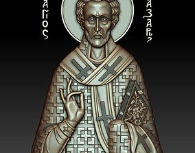 Saint Lazarus 3d model for CNC