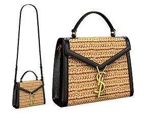 YSL Saint Laurent Cassandra Mini Top Bag Bicolor 3D model