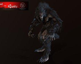 3D model Werewolf