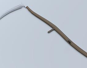Reaping Hook 3D asset