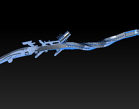 Spear from Horizon Zero Dawn 3D printable model