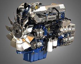 3D D13 Heavy Duty Truck Engine - 6 Cylinder Diesel Engine