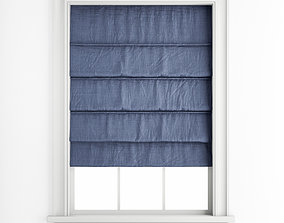Roman blinds 28 3D model