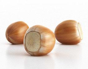 nuts Hazelnut 3D model