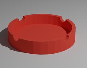 VR / AR ready ashtray 3D model