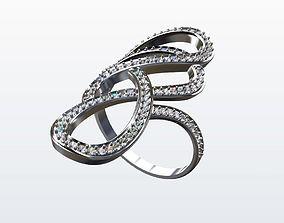 ring tangle 001 3D print model