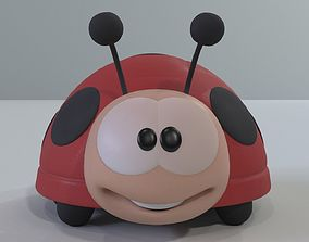 ladybug cartoon 3D model