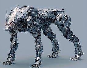 Metal Wolf Fenrir 3D model