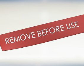 3D model remove before use