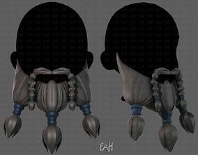 Beard V09 3D asset