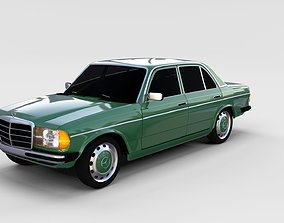 Mercedes-Benz W123 rev 3D