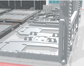 3D print model -MHB04C2 -Mecha Hangar Bay 04-2 MG Hangar 1