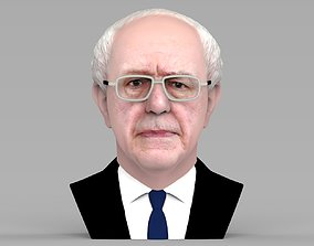 Bernie Sanders bust ready for full color 3D printing