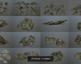 cliff full set 3D