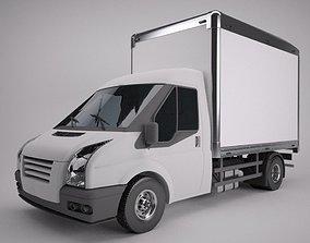 Box Van 3D model