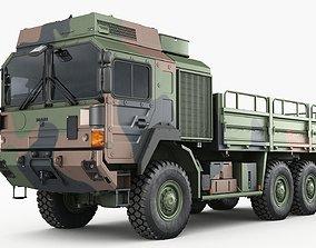 3D European military truck MAN HX61
