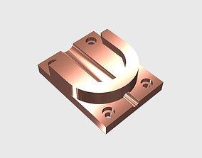 SCUBA - DIN Regulator Support 3D printable model