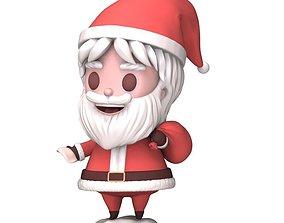 Santa Claus 3D printable model claus