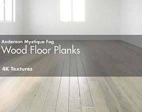 3D asset Anderson Mystique Fog Hardwood Wood Floor Plank 1