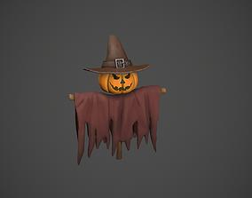 3D asset realtime Scarecrow