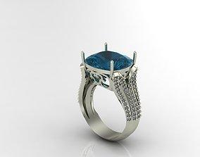 3D print model gem jewelry diamond ring