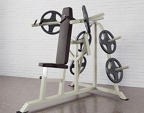 3D Gym equipment 19 am169