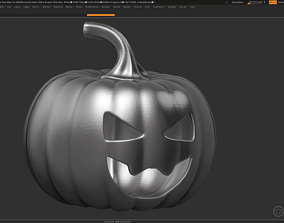 3D print model halloween pumpkin 09