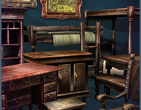 Old Furniture 3D model