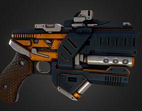 3D asset Pulse Pistol