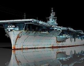 USS Essex CV-9 3D model